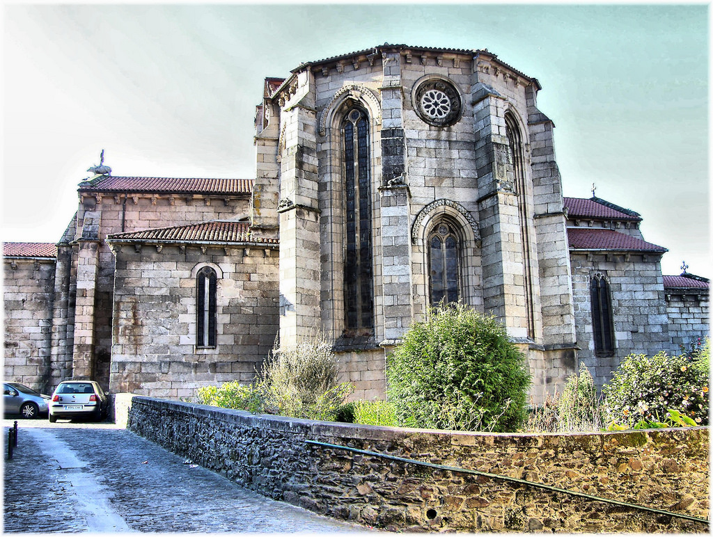 Church of Saint Francis, at the gothic city of Betanzos
