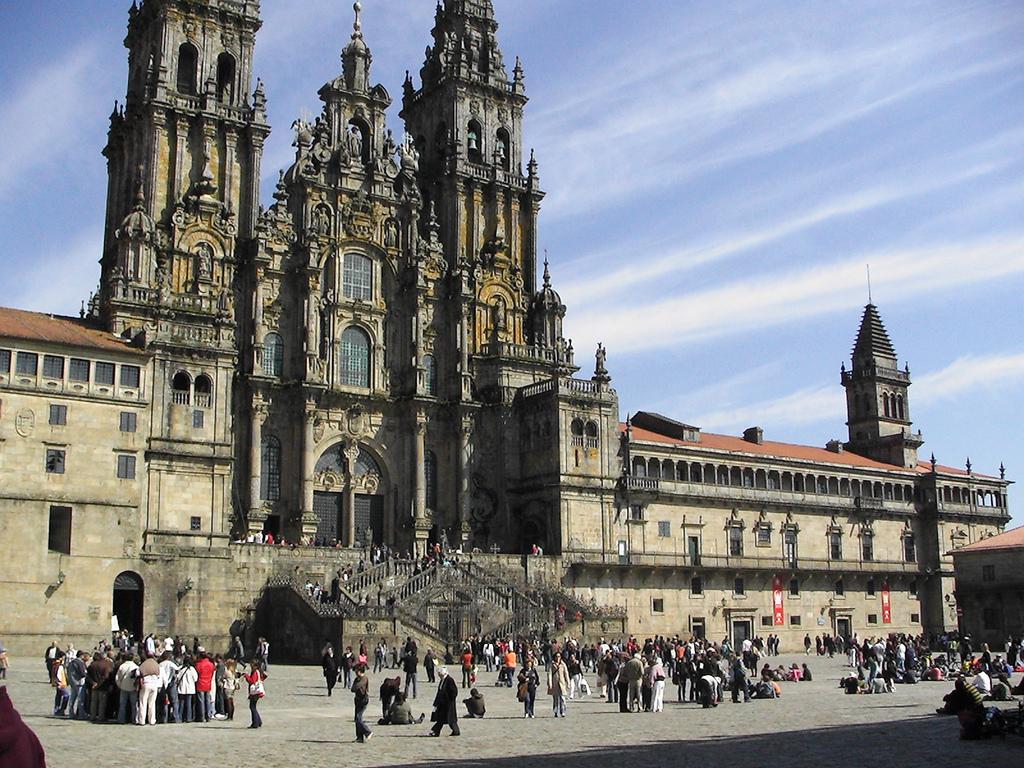 Cathedral of Santiago de Compostela, in Santiago