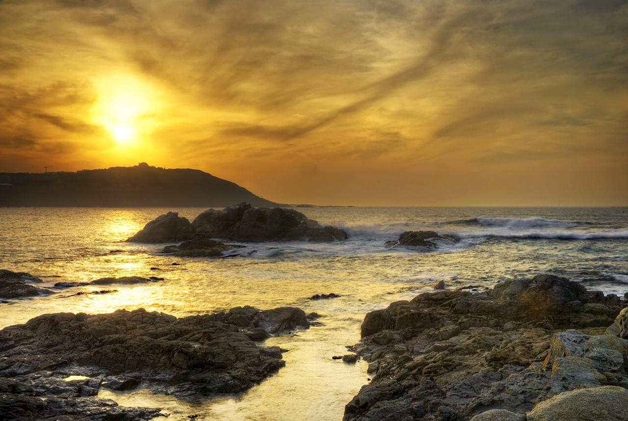 Sunset at A Coruña