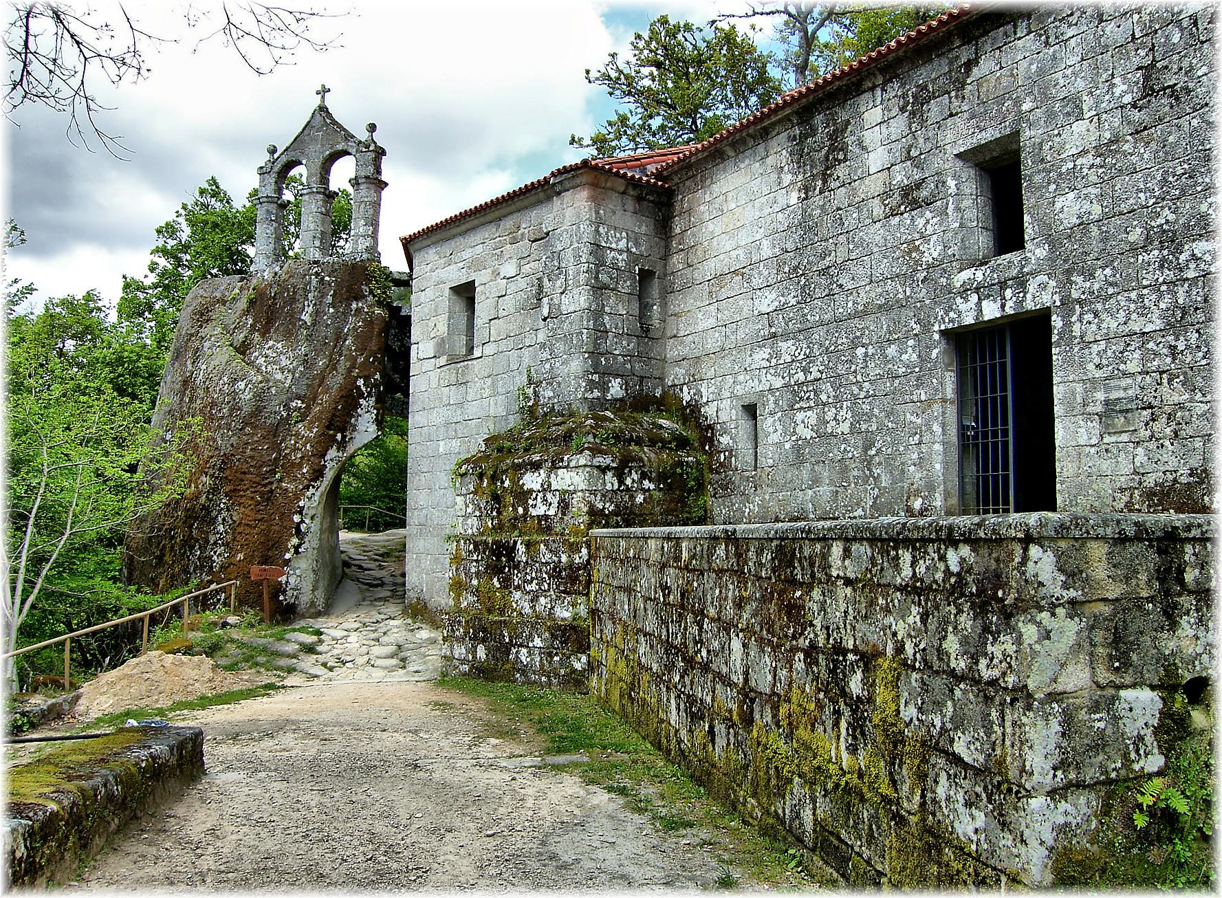 Abbey of San Pedro de Rochas, in Esgos